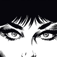 Modesty Blaise Eyes print.