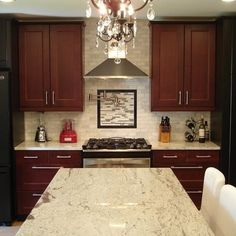 Ikea Ramsjo Red Brown Kitchen Design, Pictures, Remodel, Decor and Ideas