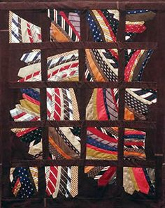 Great way to recycle old neckties!