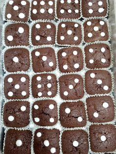 Dice Brownies - Is anyone still playing Bunco?