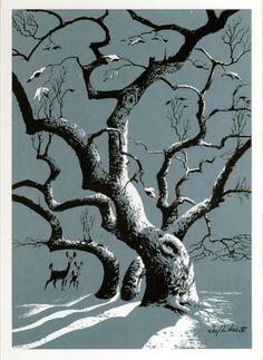 snow-illustration-Ralph-Hulett.jpg 736×1,008 pixels