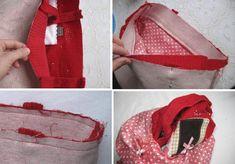 Как вшить молнию в сумку - Ярмарка Мастеров - ручная работа, handmade