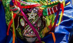 O colorido do boi do Reisado Baile Estrela (Moita Bonita/SE).