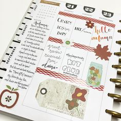 First half of the week in my #happyplanner - can you tell I'm excited that Autumn is here  by planneraddict727