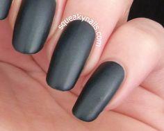 Spell Polish Dark Horse | Squeaky Nails http://www.squeakynails.com/2015/01/swatch-spell-polish-dark-horse.html