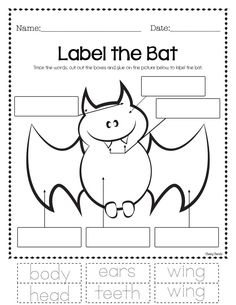Halloween Math and Writing - Activities  → Pumpkin - Ten Frame  → Bat - Ten Frame  → Pumpkin - Ten Frame (Double Digit)  → Bat - Ten Frame (Double Digit)  → NEW 2x Halloween - Missing Addend  → NEW Pumpkin - Missing Addend  → NEW Halloween - Writing Sheet  → NEW Label the Bat