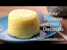 In just 7 minutes, who would've thought you can already make a Keto Microwave Lemon Cheesecake? The taste is definitely heavenly! Mug Cheesecake, Lemon Cheesecake Recipes, Single Serve Desserts, Single Serving Recipes, Mini Desserts, Keto Desserts, Easy Mug Cake, Keto Mug Cake, Side Dishes For Bbq