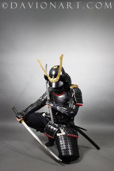 We are celebrating our Daily Deviation today... with a sad Samurai. Thank you very much! Please respect the stock rules @ PhelanDavion You can also visit www.DavionArt.com to see ...