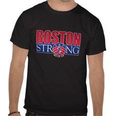 Boston Strong April 15, 2013, City, Marathon, Massachusetts, USA, Flag, Terrorism, Bombing T-Shirt