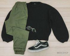 trico preto lerrux + calça cargo basic | Dol Shop