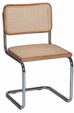 This Breuer Cane Cesca Chair for sale is functional, lightweight, and comfortable. Order custom cesca chairs for your restaurant, bar, or home today!