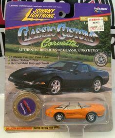 (TAS030203) - 1997 Johnny Lightning Classic Customs Corvette Indy Die-Cast Car