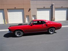 1969 FORD MUSTANG MACH 1 FASTBACK - Barrett-Jackson Auction Company - World's Greatest Collector Car Auctions