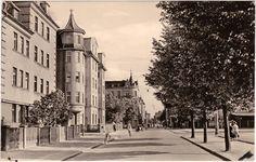 Forst (Lausitz), Bahnhofstraße um 1964