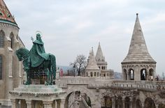 St Stephen King of Hungary Alajos Strobl at Fishermans Bastion Tom Magliery