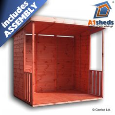 A1 SMOKING SHELTER Heavy Duty, Strong, Robust  |  FREE DELIVERY & ASSEMBLY  |  High Quality Shed  |  LOWEST PRICE GUARANTEED