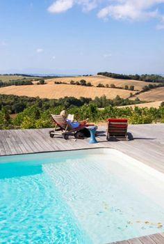 "This swimmingpool with a view is from our feature ""Best Kept Secret"""