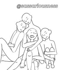 "sassariousness: ""Draw the squad, fandom, whatever you want sleeping :))) """