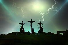 La Passione di Cristo - Sordevolo (Biella) Via crucis vivente con molti partecipanti