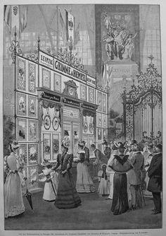 Glasbilder , Diaphanie , Grimme und Hempel Leipzig - Stich v.1895 in Antiquitäten & Kunst, Grafik, Drucke, Originaldrucke 1800-1899 | eBay