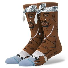 Stance Socks Tupac Shakur Sock   snapchat @ http://ift.tt/2izonFx