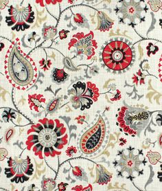 Shop Waverly Siren Song Graphite Fabric at onlinefabricstore.net for $19.45/ Yard. Best Price & Service.
