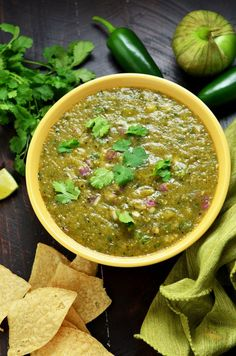 4 Must-Make Salsas: Pico de Gallo, Spicy Salsa Verde, Blended Chipotle-Tomato Salsa, and my personal favorite, Peach-Habanero Salsa. My friends always beg for these recipes, so I finally decided to share them. | hostthetoast.com