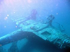 Wartime Wrecks - WWII Abandoned Aircraft & Tanks & Ships & Sub &: September 2015 Military Videos, Military History, The Blitz Ww2, Abandoned Cars, Abandoned Vehicles, Abandoned Ships, Scuba Diving Equipment, Ww2 Aircraft, Military Aircraft