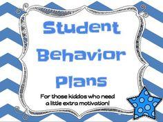 Individual Student Behavior Plans