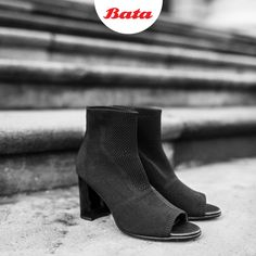 Strut fearlessly this in open- toed, heeled boots! Bata Shoes, Happy International Women's Day, Personal Stylist, The Struts, Ladies Day, Black Boots, Open Toe, Heeled Boots, Stylists