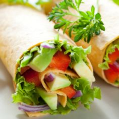VegKitchen's ideas for vegan sandwich and wraps are perfect for lunch at home, school, or office. Here are our most popular vegan wraps and sandwiches. Whole Foods, Whole Food Recipes, Heart Healthy Recipes, Healthy Snacks, Healthy Eating, Low Sugar Recipes, Wrap Recipes, Organic Recipes, Sugar Foods