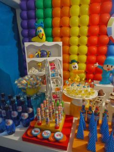 decorating children's party theme pocoyo