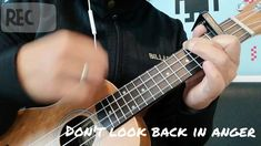 Don't Look Back in Anger - Oasis (Ukulele Cover - YouTube) Look Back In Anger, Dont Look Back, Ukulele, Guitar, Looking Back, Oasis, Music Instruments, Cover, Youtube