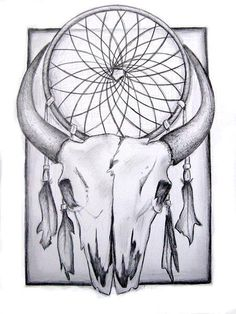 skull-and-dreamcatcher Magick, Dream Catcher, Skull, Image, Art, Black, Art Background, Dreamcatchers, Black People
