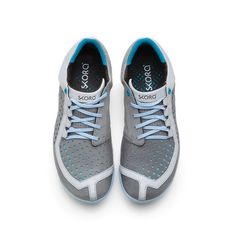 Core Shoes Women's Gry Blu Wht, 142€, now featured on Fab.