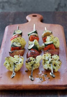 Veggies and ranch were made for each other. But these veggies don't need a dip – they're marinated in a simple mixture of lemon, ranch seasoning, and olive oil. Taste the magic when you try these grilled marinated vegetables for your next BBQ. You could add tofu to make a tasty main dish that's perfect for vegetarian guests. We've also heard that kids love them!