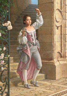 ArtStation - Endika the Pirate Princess, Sasha Beliaev Fantasy Inspiration, Character Inspiration, Character Portraits, Character Art, Warrior Princess, Fantasy Princess, Looks Cool, Costume Design, Female Characters