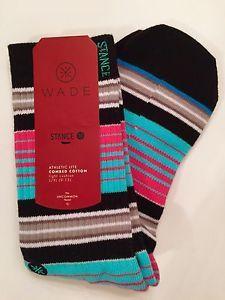 Mens Stance Wade Socks Athletic Light Cushion South Beach XL Large | eBay