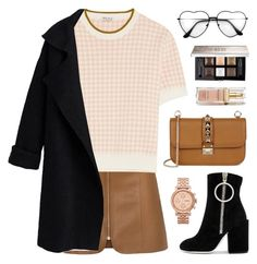 """""""escape"""" by novalikarida ❤ liked on Polyvore featuring Miu Miu, Off-White, Valentino, Givenchy, Elizabeth Arden and FOSSIL"""