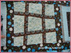 Joanie's Trendy Quilts: It is Finished!! Oh Happy Day!!