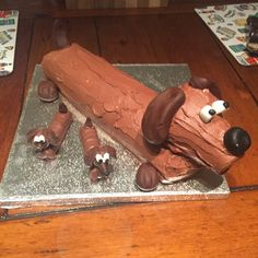 Sausage dog birthday cake! Bethany birthday ideas ...