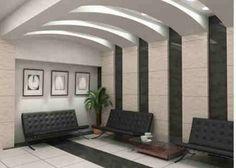 6 Active Tips AND Tricks: False Ceiling Bedroom Floors false ceiling design hotel.Pvc False Ceiling Design contemporary false ceiling home decor. False Ceiling Living Room, Home Ceiling, Ceiling Ideas, Ceiling Lights, Foyer Design, House Design, Roof Design, Modern Foyer, Modern Church