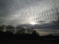 Repeating line patterns emerged across large portions of the white hazy sky. Solar halos formed around the sun and rainbow reflections appeared in the expanding chemtrails. Moiré patterns crossed the cloud cover past sunset. Geoengineering is the new norm.