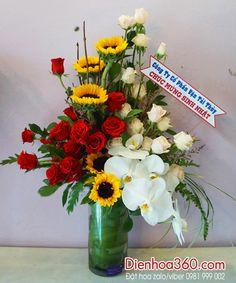 Bình hoa tươi | hoa chúc mừng sinh nhật | quà tặng sinh nhật