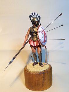 1/16 scale Spartan Hoplite 5th Century BC