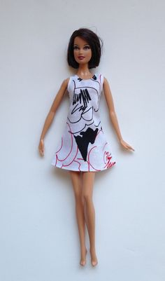 Handmade Barbie Clothes SPECIAL Sundress & Hobo Purse on Etsy, $4.00