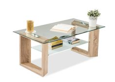 Accessorize your living spaces with the Lawrence center table to up the style quotient of your seating area.