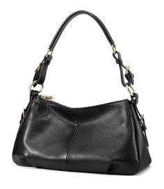 ce81d1452e Kattee Ladies  Vintage Leather Hobo Shoulder Handbag   Learn more by  visiting the image link