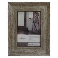 Threshold™ Aged Wood Frame.  4x6, 5x7.  10-13 + sale.