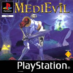 MEDIEVIL [1999] . Challenge the powers of darkness and untold magic as Sir Daniel Fortesque returns from the grave to battle an evil sorceror's plans of demise. (As if being dead wasn't enough!) Follow the mystical trail of darkness and land in the journey of a lifetime.